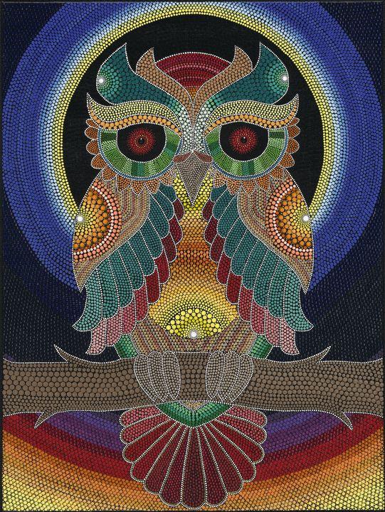 The mysterous Owl - MojaMalaMandala
