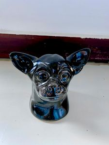 Chihuahua Head - Black