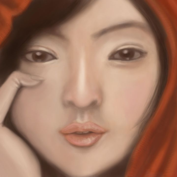 realistic asian lady - Siofra