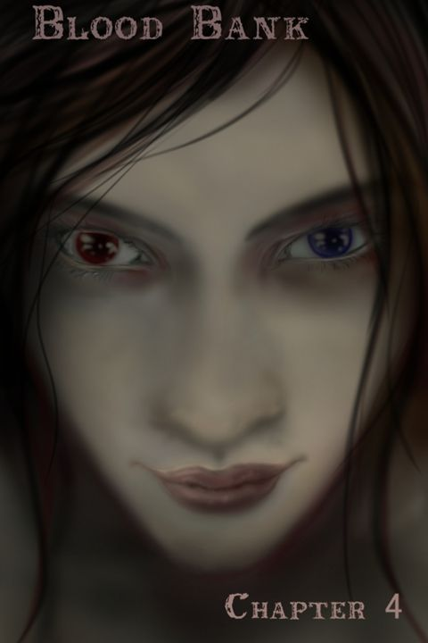 """""""Blood Bank"""" cover Chapter 4 - Siofra"""
