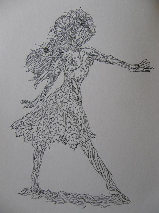 Leaf lady - Siofra