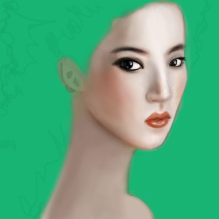 The green Lady - Siofra
