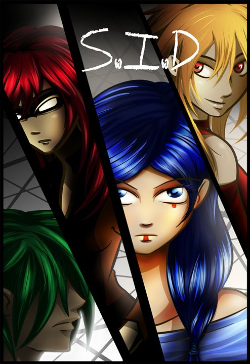 """""""S.I.D"""" chapter 1 comic book cover - Siofra"""