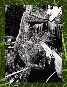 65 Million Year Old Gaze- Green Eyes