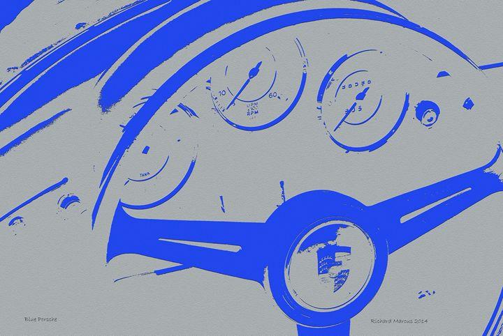 Blue Porsche - Media Syrup