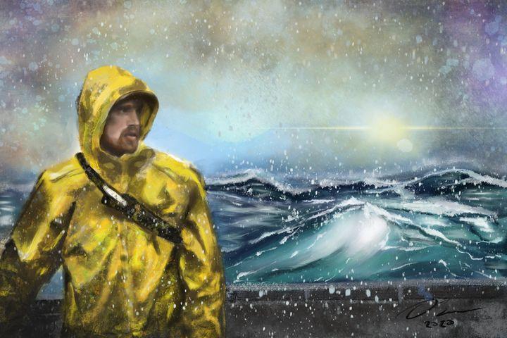 Life of a fisherman - Catala Art