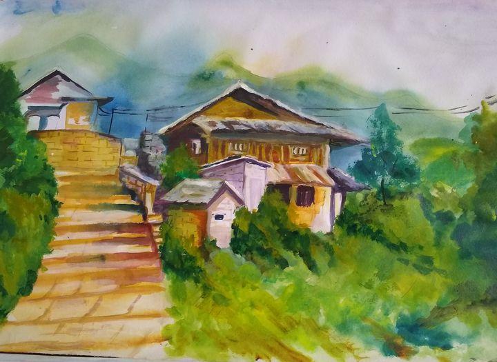 Indian village - Mili