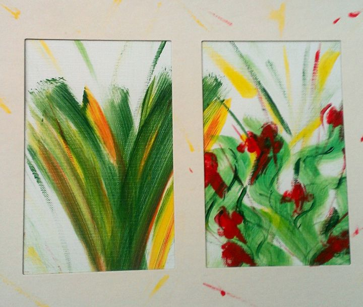 Item 17: I Picked These for You - Power Paintings