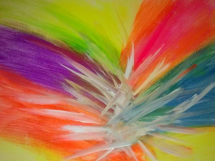 Item 5: Dio's Rockin' Rainbow - Power Paintings