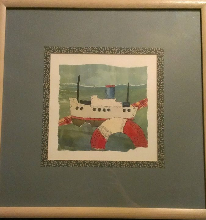 Item 1 - Boat (photo 1 of 2) - Power Paintings