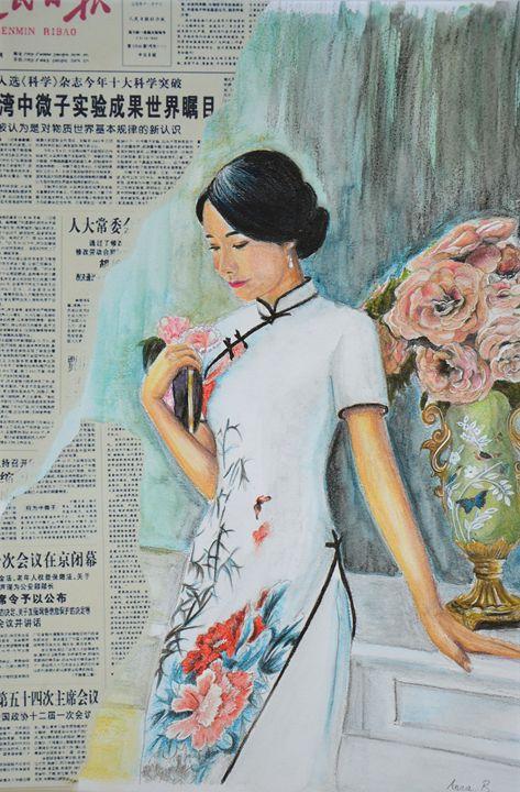 Elegance in Beijing - Anna Balmora