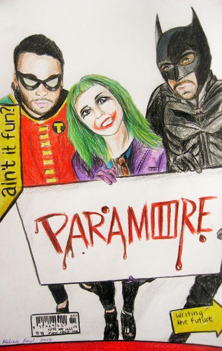 Paramore - Paraween - The Artwork of Meliese Reid