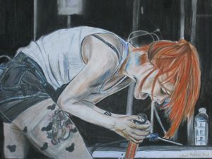 Hayley Williams Live Drawing