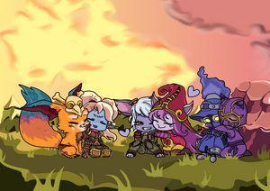 League of Legends Yordles!