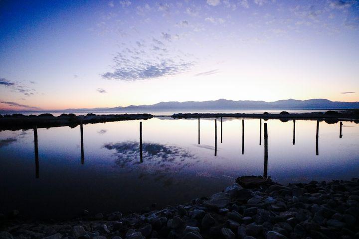 Salton Sea No. 1 (Blue) - Crystal Enciso Photography