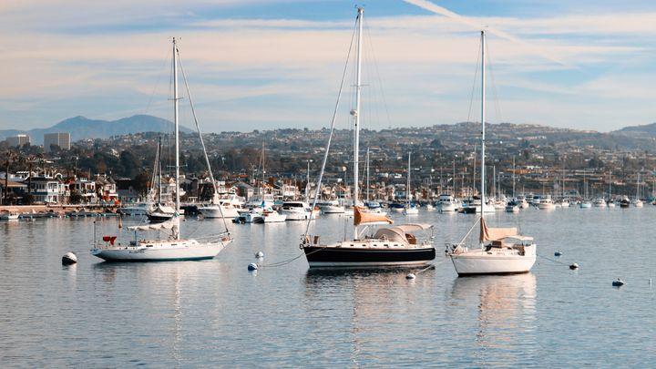 Newport Bay & Balboa Island - Crystal Enciso Photography