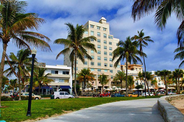 Ocean Drive Miami - Studio Pijlman Art Photography