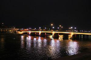 Dayton Night Bridge