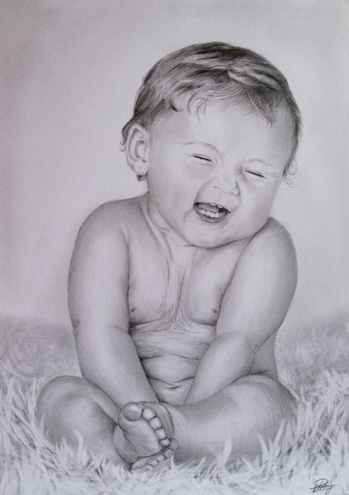 Gorgeous baby - Liga's Art