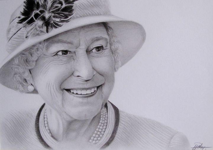 Queen Elizabeth - Liga's Art