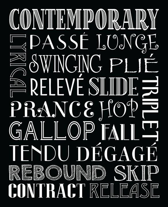 Contemporary Dance Subway Art Poster - Friedman Gallery