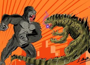 God Kong and King zilla