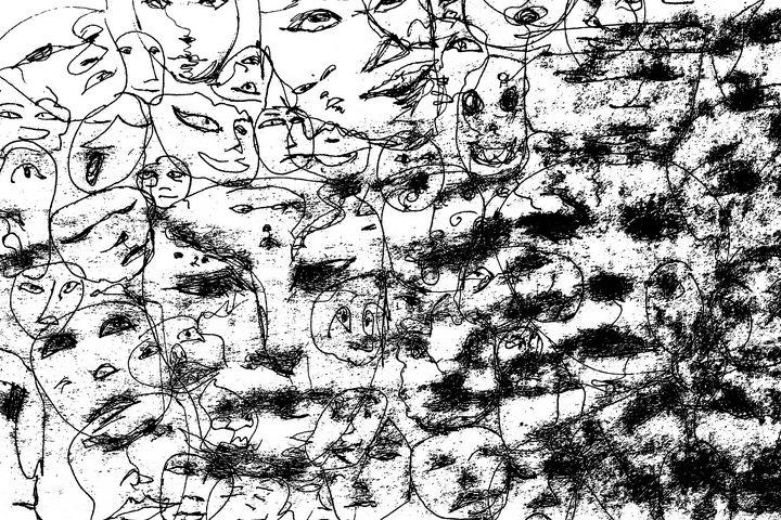 Lost Faces - Janna Aubrey