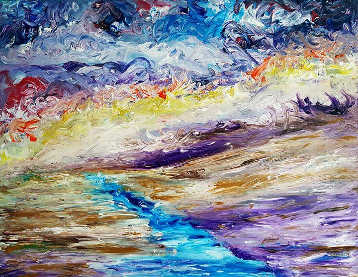 Horizon on fire - Celes Orozco