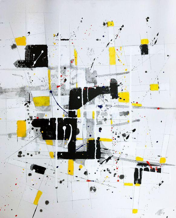 Composition #191118-2 - Adrian Bol