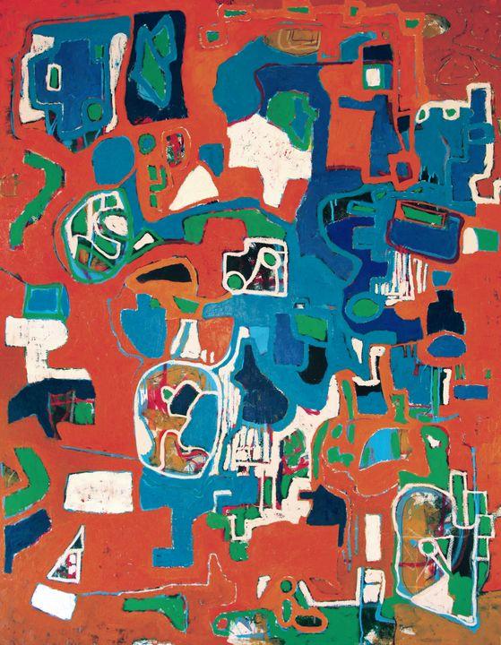 Composition #120903 - Adrian Bol