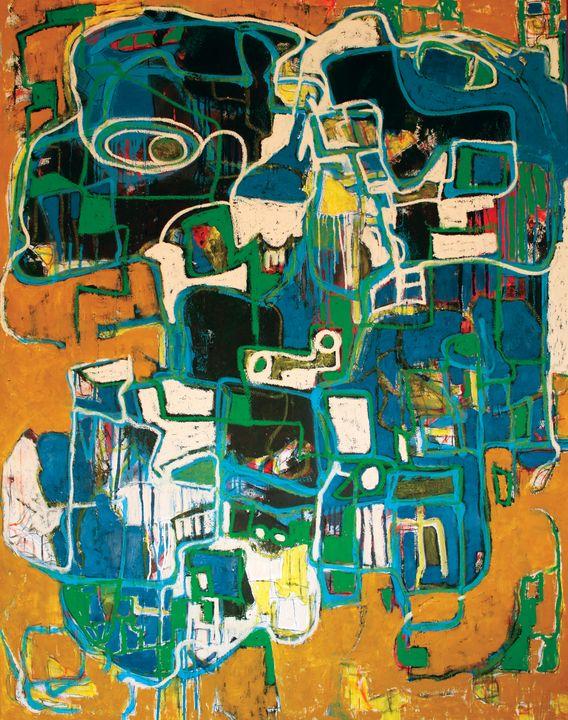 Composition #120910 - Adrian Bol