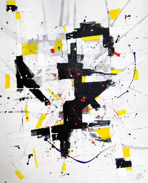 Composition #191118-4 - Adrian Bol