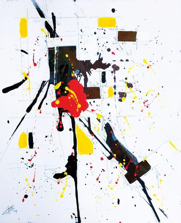 Composition #191116-4 - Adrian Bol