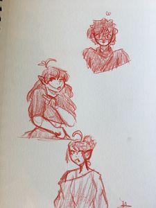 A few sketches