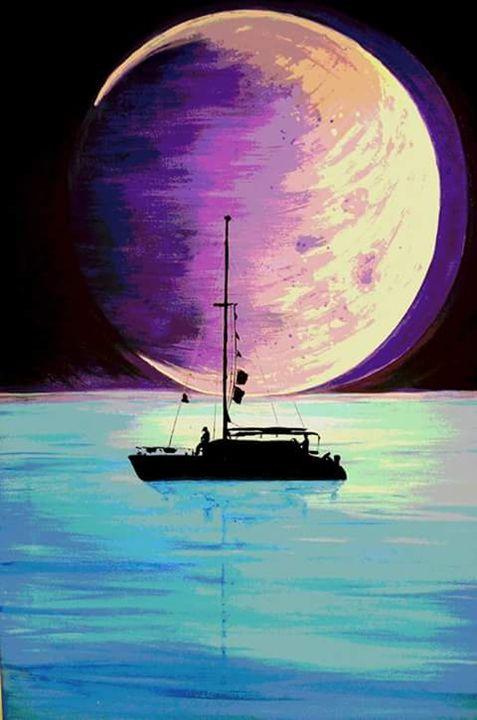 Full Moon Bay - Michelle Piccoli