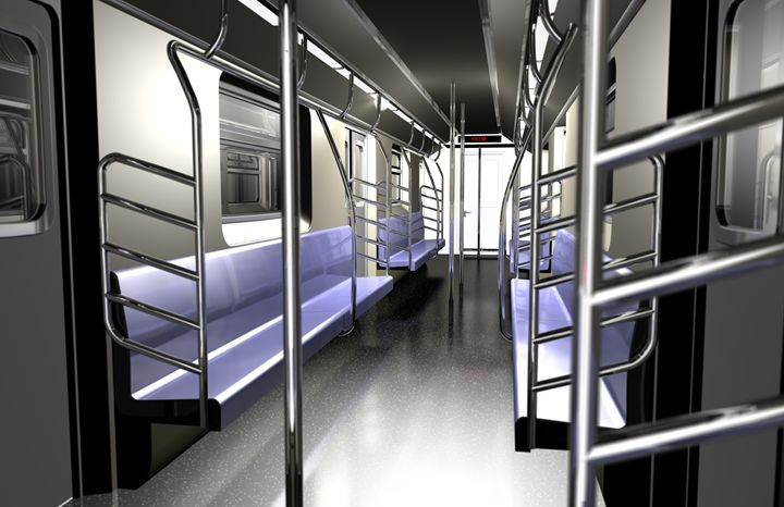 Subway Interior - Abby Digital Renders