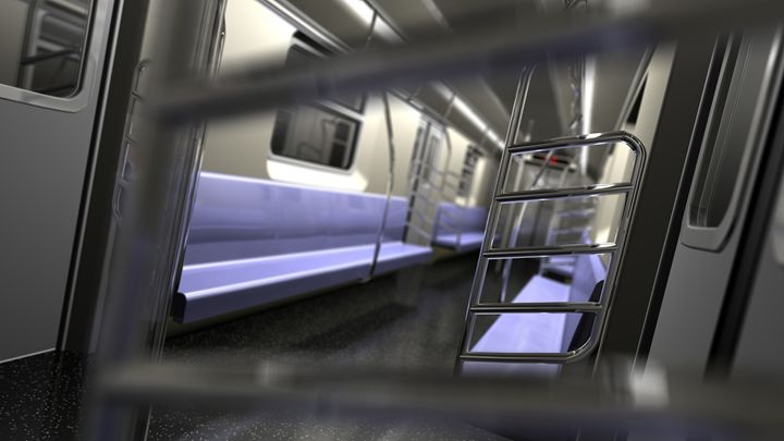 Subway Interior 2 - Abby Digital Renders