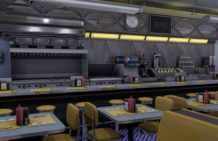 Diner 1 - Abby Digital Renders