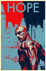 Marvel Daredevil Comic Propaganda
