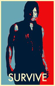 The Walking Dead Daryl Dixon Zombie