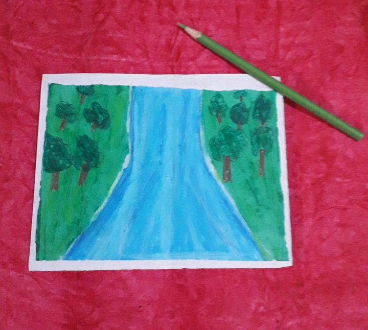 Waterfall - DESHU ARTS
