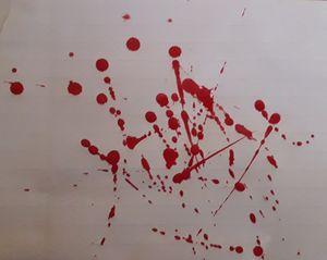 Rojo y sangre