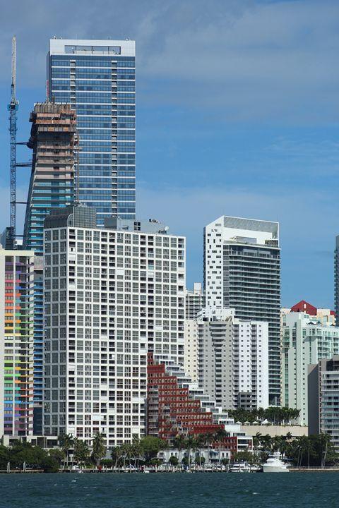 A Miami View from Key Biscayne - Jorge Rodríguez Barrios
