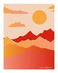 Retro Sunrise