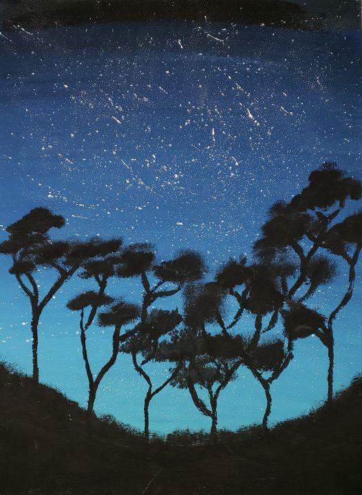 Paradise at night - Gordon McIntyre Lloyd Quinton