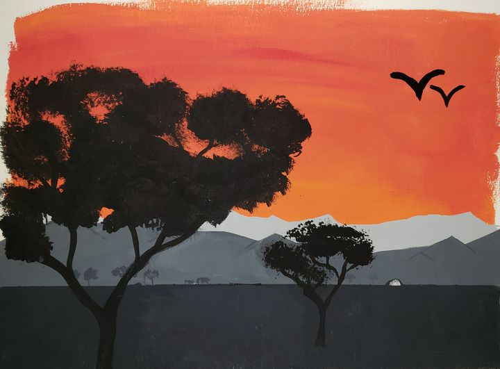 Sunrise, in the West. - Gordon McIntyre Lloyd Quinton