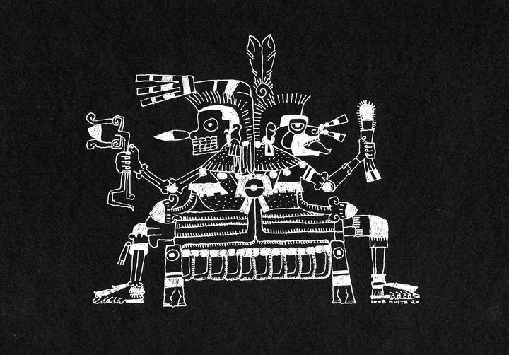 Sciamanico Azteco - Igor Notte