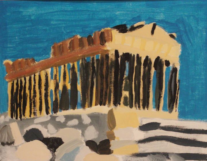 Parthenon (LIMITED EDITION) - Polyvios' Paintings Etc.