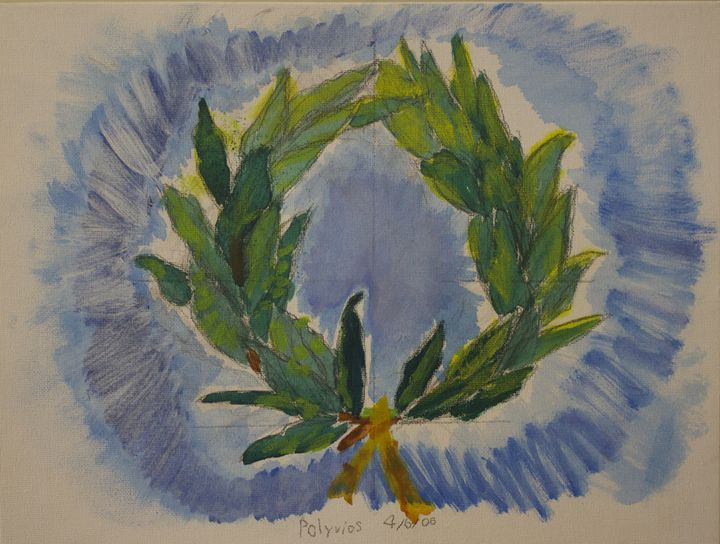 The Olive Wreath - Polyvios' Paintings Etc.