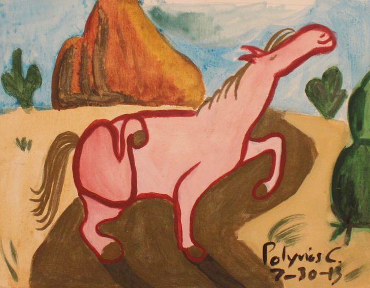 Western Horse - Polyvios' Paintings Etc.
